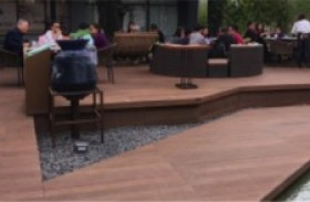 Outdoor Decking Using Cellwood and Other Materials